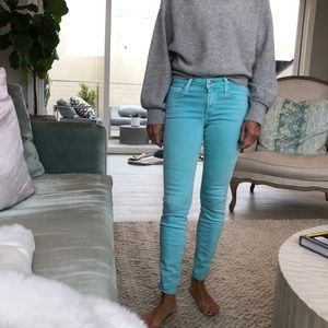 Colored denim
